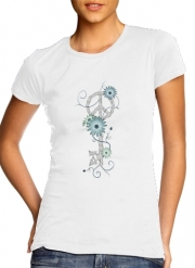 T-Shirt Manche courte cold rond femme Key To Peace