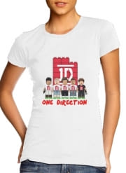 T-Shirt Manche courte cold rond femme Lego: One Direction 1D