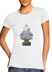 T-Shirt Manche courte cold rond femme Let's go outside