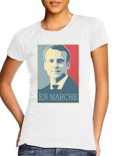 T-Shirts Macron Propaganda En marche la France
