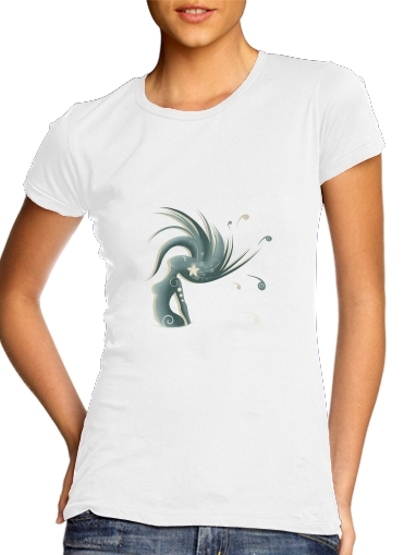 T-Shirt Manche courte cold rond femme Melissa, wife of ocean