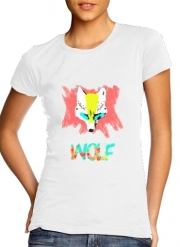 T-Shirt Manche courte cold rond femme Nika Wolf