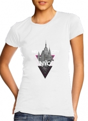 T-Shirt Manche courte cold rond femme NYC V [pink]