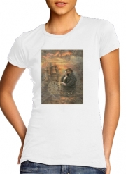 T-Shirt Manche courte cold rond femme Outlander Collage