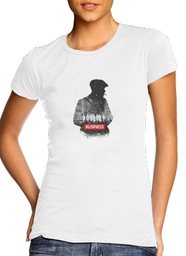 T-Shirt Manche courte cold rond femme peaky blinders