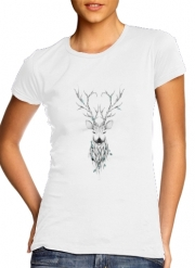 T-Shirt Manche courte cold rond femme Poetic Deer