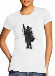 T-Shirt Manche courte cold rond femme Post Apocalyptic Warrior