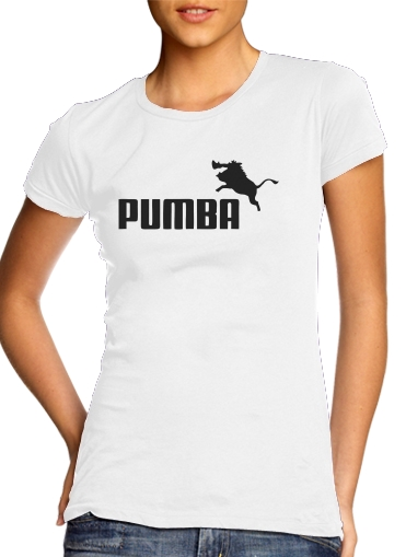 T-Shirts Puma Or Pumba Lifestyle