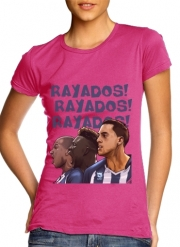 T-Shirt Manche courte cold rond femme Rayados Tridente