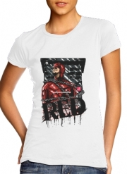 T-Shirt Manche courte cold rond femme Red