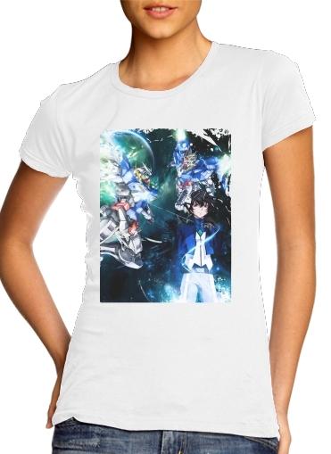 T-Shirts Setsuna Exia And Gundam