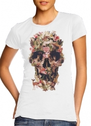 T-Shirt Manche courte cold rond femme Skull Jungle