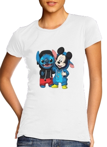 T-Shirts Stitch x The mouse