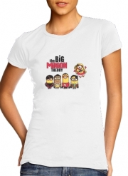 T-Shirt Manche courte cold rond femme The Big Minion Theory
