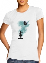 T-Shirt Manche courte cold rond femme The Girl That Hold The World