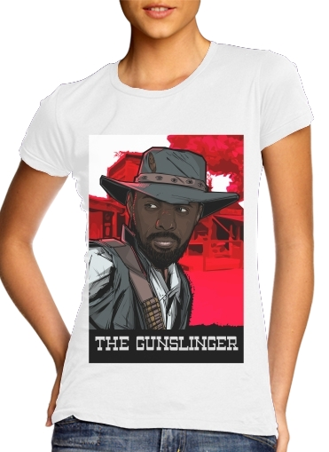 T-Shirt Manche courte cold rond femme The Gunslinger