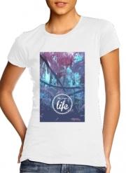 T-Shirt Manche courte cold rond femme the jungle life