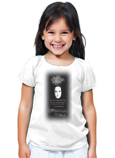 T-Shirt Fille 13 Reasons why K7