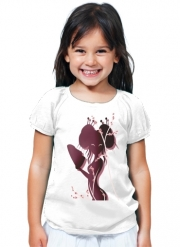 T-Shirt Girl Akiko asian woman