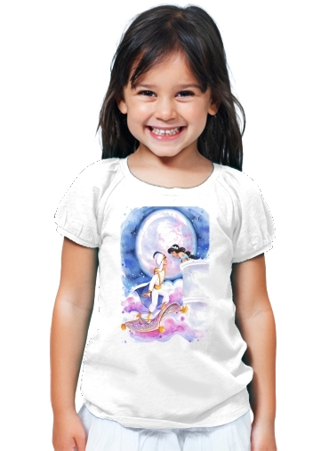 T-Shirt Fille Aladdin Whole New World