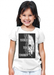 T-Shirt Fille Albert Einstein