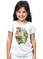 T-Shirt Fille Animal Crossing Artwork Fan
