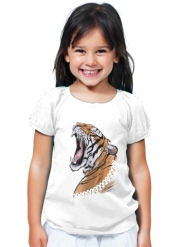 T-Shirt Girl Animals Collection: Tiger