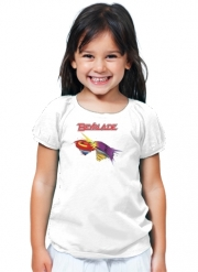 T-Shirt Fille Beyblade toupie magic