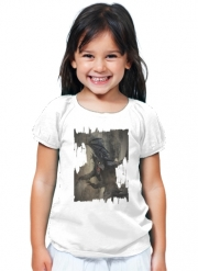 T-Shirt Fille Black Dragon