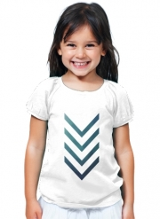 T-Shirt Fille Blue Arrow