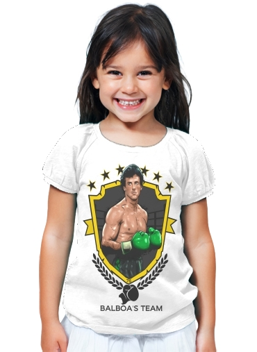 T-Shirt Girl Boxing Balboa Team