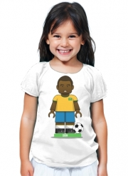 T-Shirt Girl Bricks Collection: Brasil Edson