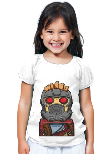 T-Shirt Girl Bricks Star Lord
