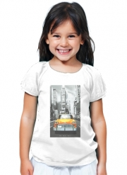 T-Shirt Girl Yellow taxi City of New York City