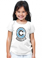 T-Shirt Fille Capsule Corp