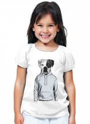 T-Shirt Fille Cool Dog