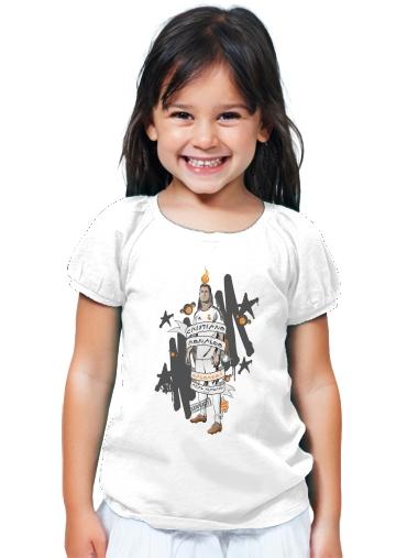 T-Shirt Girl Cristiano Ronaldo white - Kids 98621b753