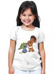 T-Shirt Girl Disney Hangover Moana and Stich