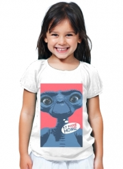 T-Shirt Fille E.t phone home