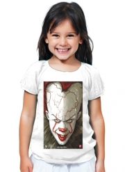 T-Shirt Fille Evil Clown