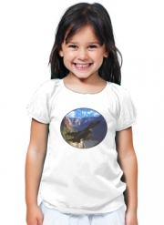 T-Shirt Fille F-16 Fighting Falcon