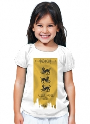 T-Shirt Fille Flag House Clegane