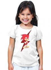 T-Shirt Fille Flash The Hedgehog