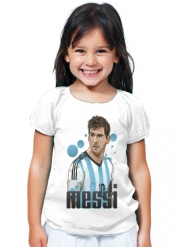 T-Shirt Girl Football Legends: Lionel Messi World Cup 2014