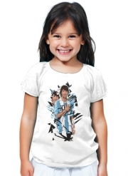 T-Shirt Fille Football Legends: Lionel Messi Argentina