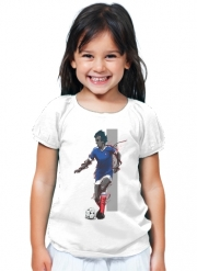 T-Shirt Fille Football Legends: Michel Platini - France
