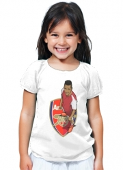 T-Shirt Girl Football Stars: Alexis Sanchez - Arsenal
