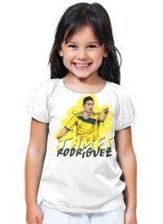 T-Shirt Fille Football Stars: James Rodriguez - Colombia