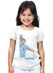 T-Shirt Fille Football Stars: Luis Suarez - Uruguay