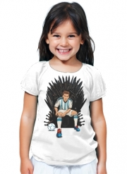 T-Shirt Girl Game of Thrones: King Lionel Messi - House Catalunya